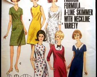"""Butterick 4029  Misses' Quick & Easy Dress Bust 32"""""""