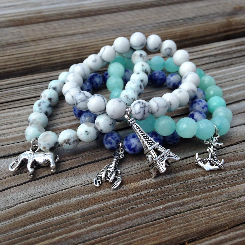 Design Your Own Custom Bangle Charm Bracelet Pick Your Charms: Charm Bracelet Design Your Own Custom Bracelet Perfect For