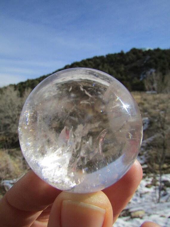 Quartz Crystal Ball Quartz Crystal Ball From