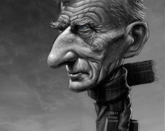 Samuel Beckett Portrait