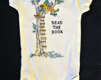 Frog & Toad Icculus Phish Baby or child Onesie or Shirt