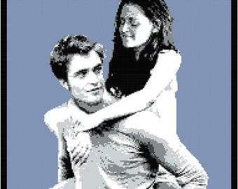 Edward and Bella Blanket Pattern