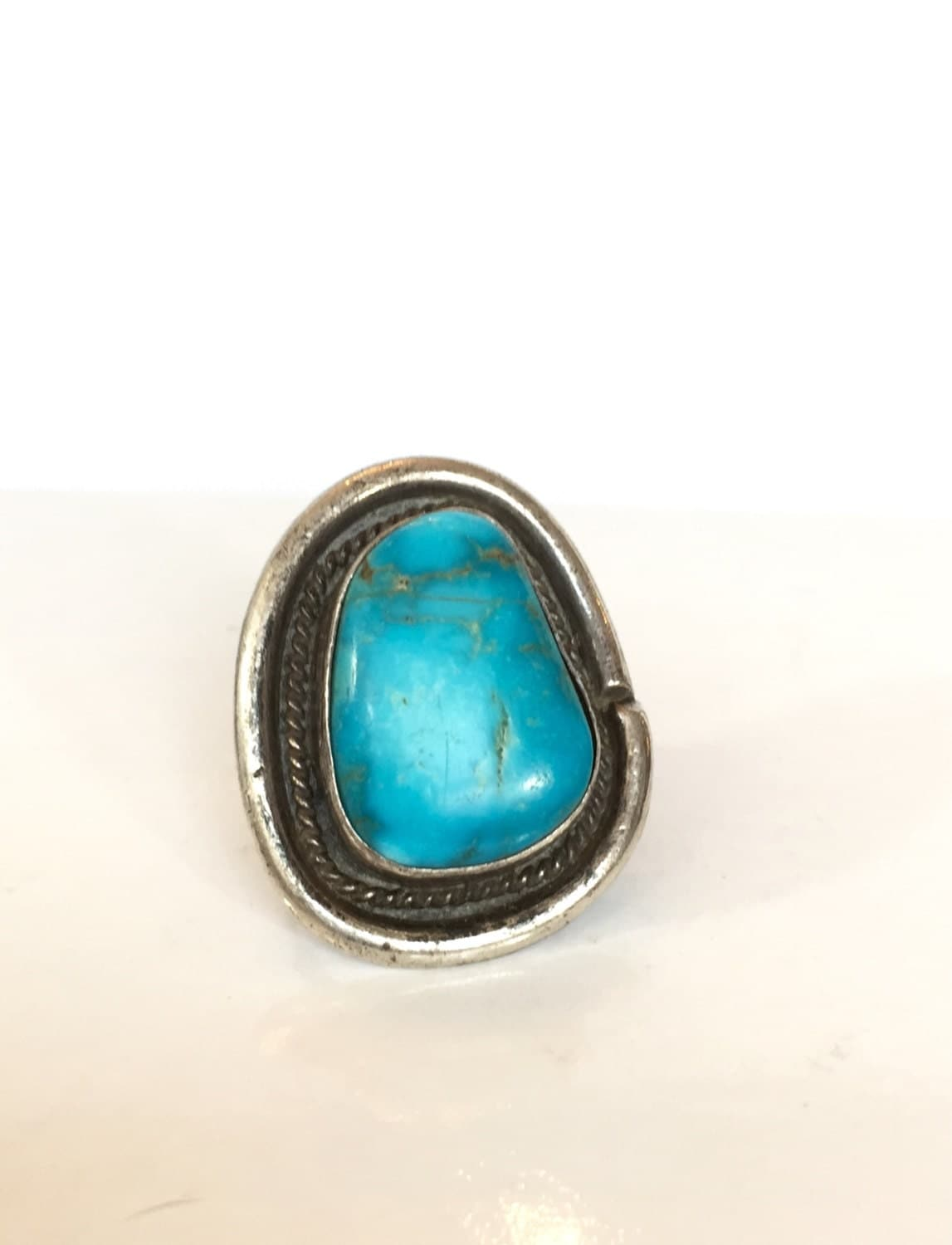vintage jewelry turquoise ring navajo by