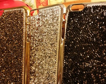 20% off iPhone 7/ 7 plus / 6s / 6s plus bling shiny case decorated with rhinestone - Bling Crystal case