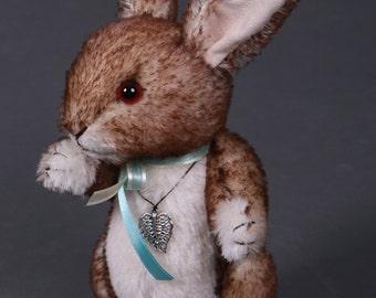 Coby the Rabbit Bunny Mohair Teddy Artist Bear