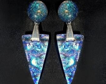 NEW!  Ripple Post Earrings, Style RDT