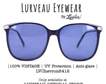 Lurveau® Authentic Vintage Oversized Geek Sunglasses
