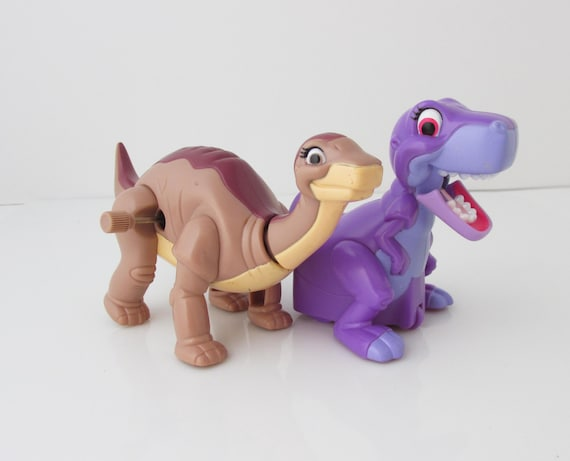 Land Before Time Toys : The land before time toys littlefoot chomper wind up