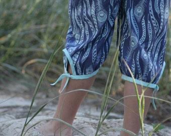 Endless Summer Capri Pants - girls' Summer pants - PDF pattern