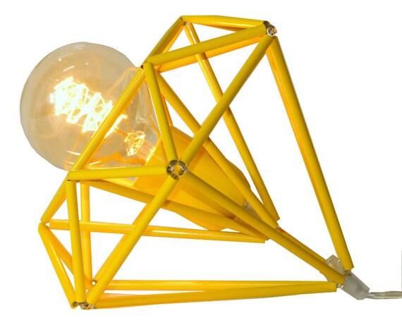 Himmeli lumi u00e8re diamant Cage Table lampe géométrique par