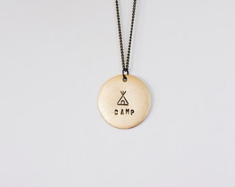 Layering Necklace (Camp Vibes)