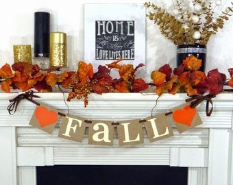 Fall Decorations Banner -  Fall Themed Banner - Thanksgiving Decorations - Holiday Decorations - Thanksgiving Decor - Happy Fall