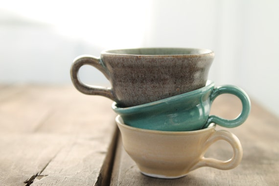 Tiny Incense Burner Teacups