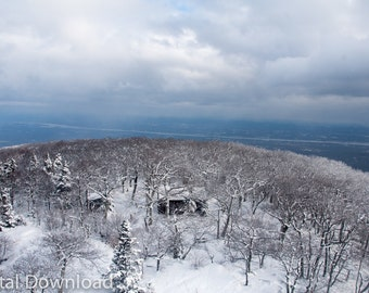 Snowy Hilltop - Digital Download