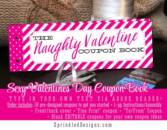 Sexy valentine gifts for him for her naughty valentine for Creative valentines day ideas for wife