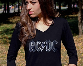 popular items for acdc ac dc on etsy. Black Bedroom Furniture Sets. Home Design Ideas