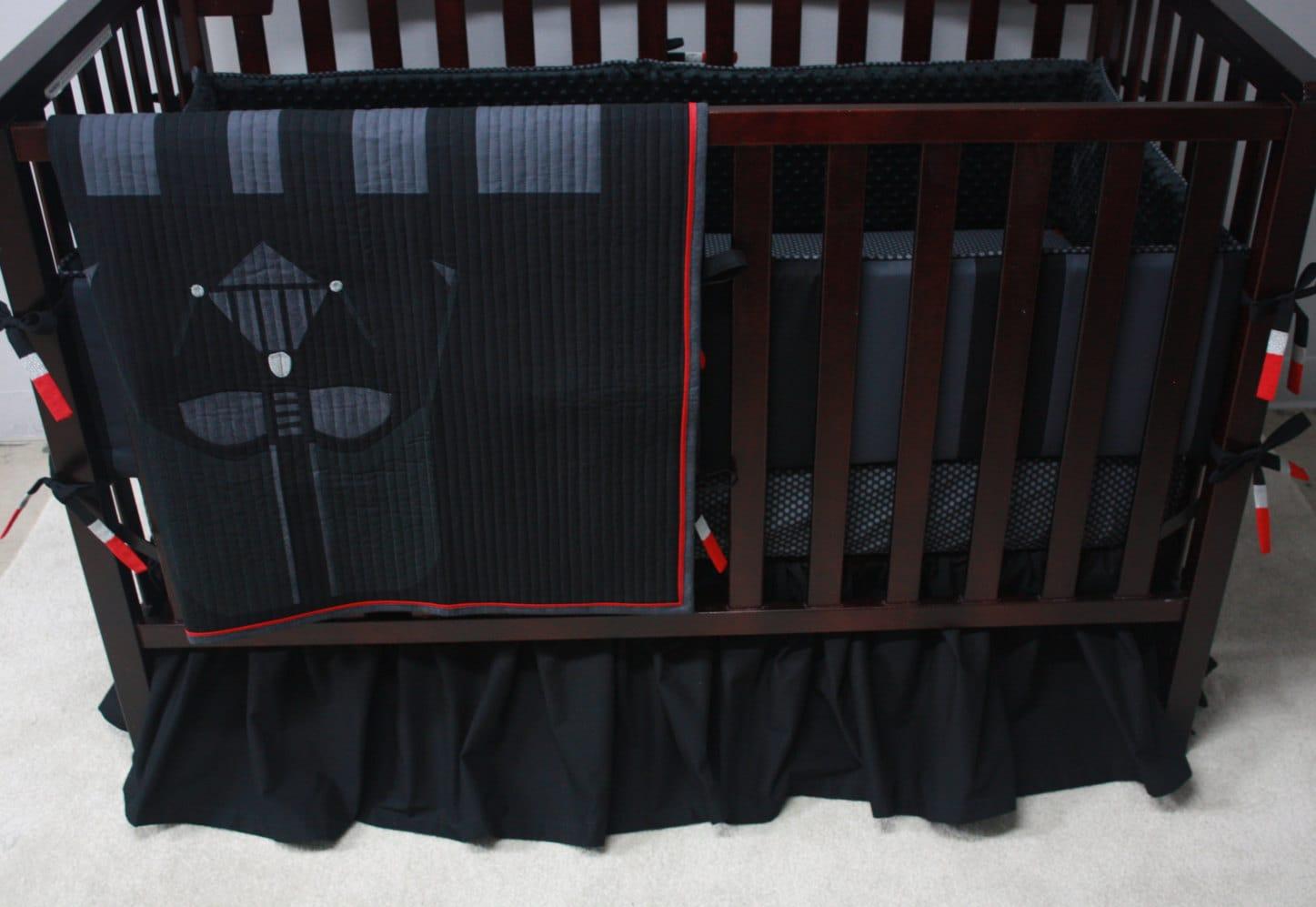 Star Wars Baby Beddingdarth Vadercustom Crib Bedding Mto