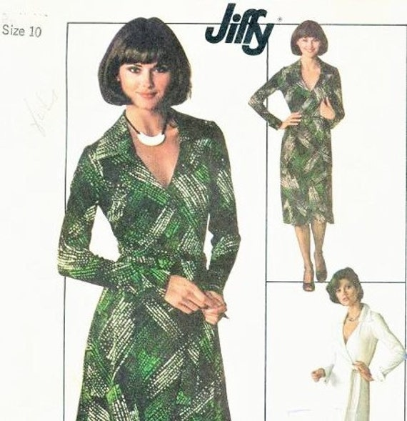 Dvf Wrap Dress Sewing Pattern s DVF Wrap Dress Pattern