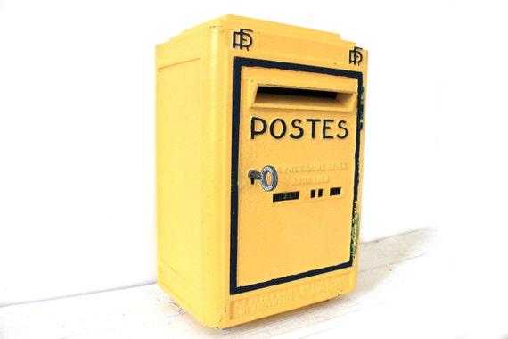 Fantastique fran ais la poste 1956 fonte bo te par monsieurlouis - Boite a lettre originale ...