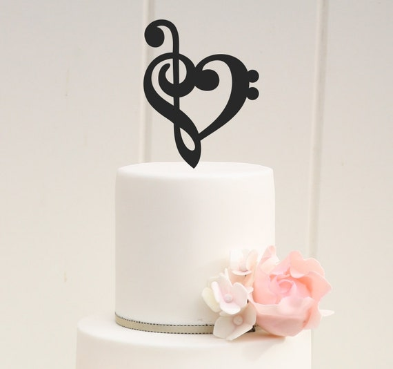 Music Cake Toppers Ultnice Cake Topper Music Symbol Notes