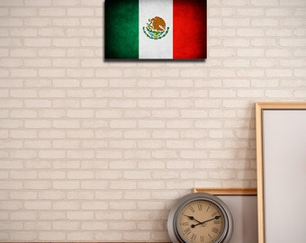 Mexico Canvas Flag