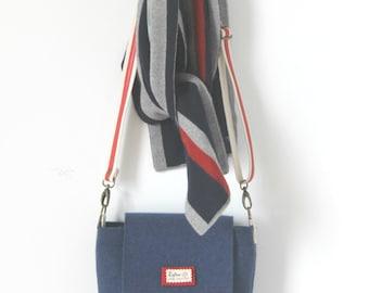 Mens Messenger bag, Mens Satchel bag, Messenger bag for Men, Felt Messenger bag, Felted bag, Crossbody bag for Men