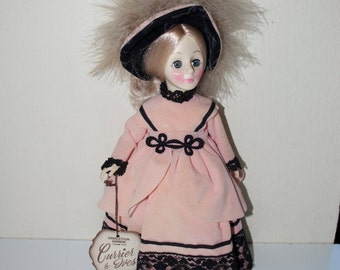 """Effanbee Doll Currier & Ives Charleston Harbor 1979 #1279 Pink 11"""""""