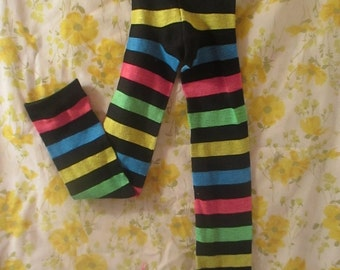 Rainbow Stripe (Thick) Baby/Toddler Leggings