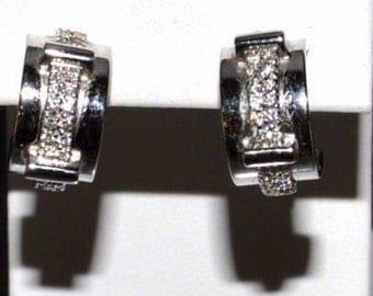 18K Gold and Diamond Earrings by Asprey