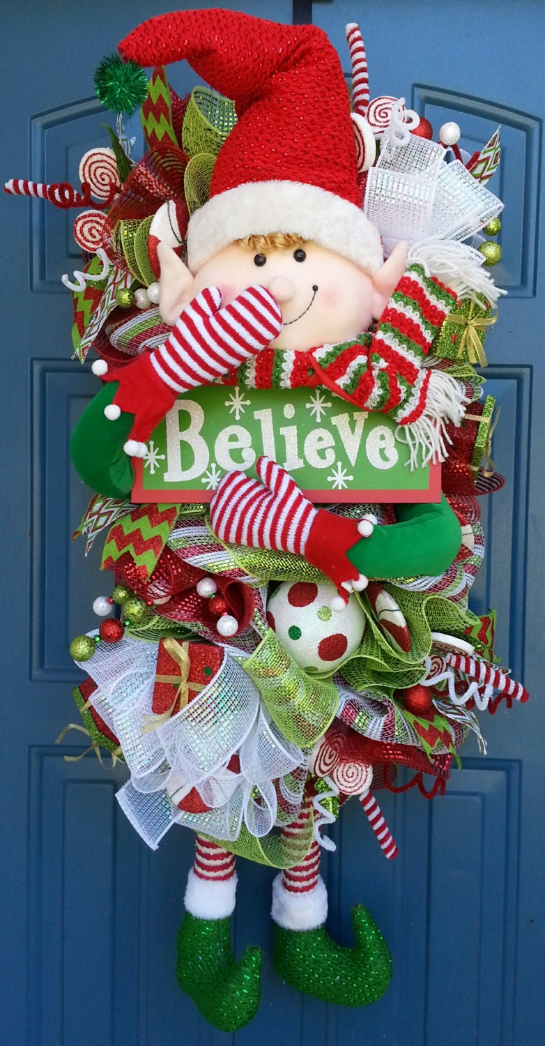 Mesh Ribbon On Christmas Trees Pictures