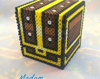 Legend of Zelda Box with Lid - Zelda Treasure Chest | Legend of Zelda Gift | Small Reusable Gift Box | Video Game Gift For Him or Her