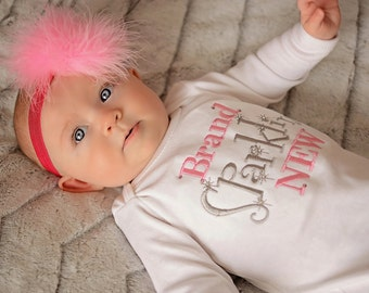 Brand Sparklin New Newborn Girl Take Home Outfit {GOWN ONLY} Ready To Ship
