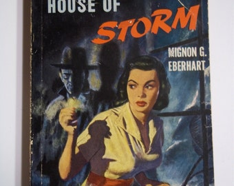 House of Storm by Mignon G. Eberhart Bantam Books #885 1951 Vintage Mystery Paperback GGA