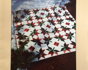 Tulips in the Snow Quilt Pattern