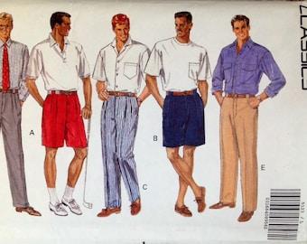 Butterick 5123 UNCUT Men's Shorts & Pants