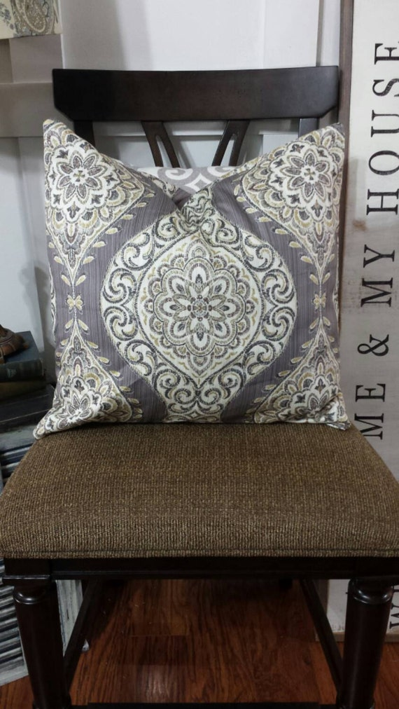 Both Sides Designer Pillow Cover 18x18 20x20 By