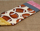Pencil Case: Football Pencil Pouch | Pencil Holder | Personalized Pencil Case | Unique Gift | Christmas Gift | Gift for Child