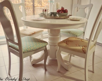 SOLD____4 Decorative french chairs