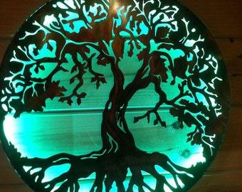 Tree Of Life Metal Wall Art Hand Crafted Metal Tree Of Life
