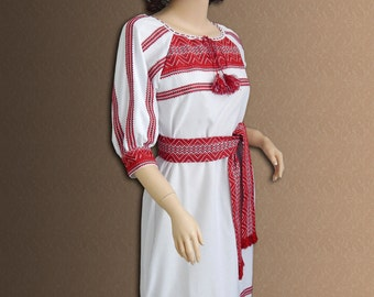 Ukrainian dress. Vyshyvanka dress National Ukrainian clothing Ukrainian embroidery  Women's dress Fashion ukrainian