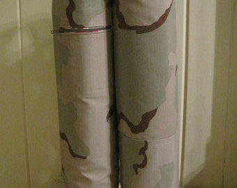 His and Hers Camo Yoga Mat Totes