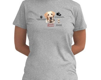 Golden Labrador Retriever Women T-Shirt