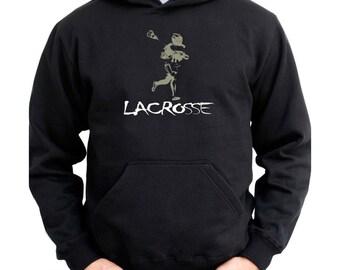 Lacrosse Silhouette Hoodie