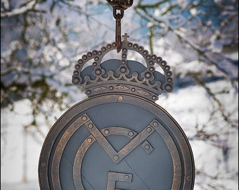 Real Madrid hand forged wall decoration, Real Madrid logo.
