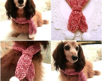 Crochet Dog Scarf, Dog Collar, Dog Bandana, Dog Cowl, Cat Scarf, Cat Cowl, Pet Accessory, Pet Clothing Apparel, Pet Scarf, Presents for Dogs