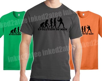 Evolution of man baseball mens tshirt gift funny humor player