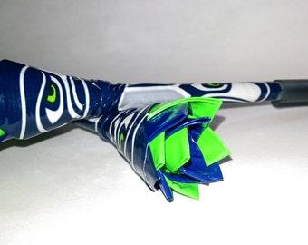 NFL Seattle Seahawks - Flower Pen - Duct Tape Pen