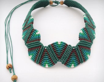Handmade Jewelry, Statement Choker Necklace