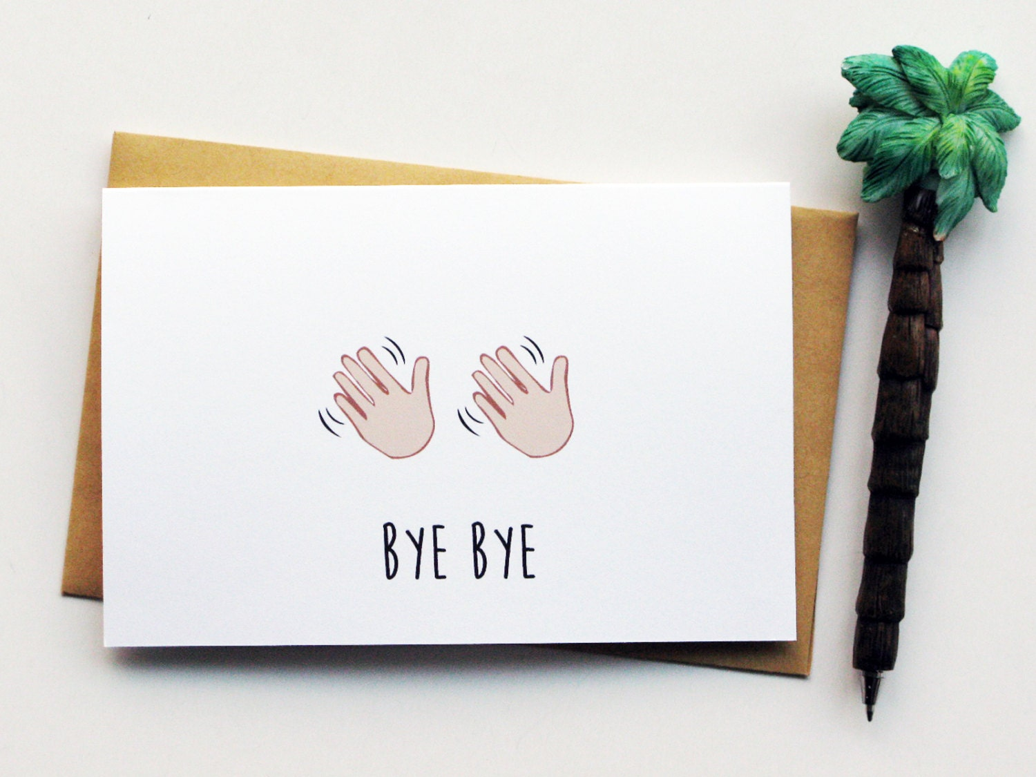 Funny Farewell Card...Leaving Card...Goodbye by nocturnalpaper