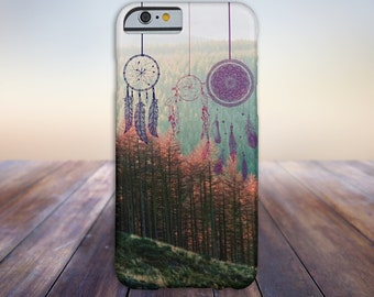 Dreamcatcher Fall Forest Case for iPhone 6 6 Plus iPhone 7  Samsung Galaxy s8 edge s6 and Note 5  S8 Plus Phone Case, Google Pixel